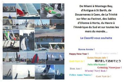 Happy New Year ! ssociation Class40