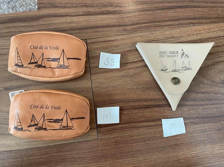 ロリアンのエリック・タバリ海洋博物館/Cite de la voile eric tabarlyで購入したコインケース:37番・58番・109番