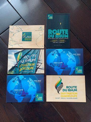 Route Du Rhum 2018 記念ポストカード